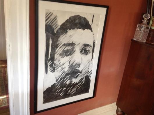 the baby boy's self portrait when he was 14